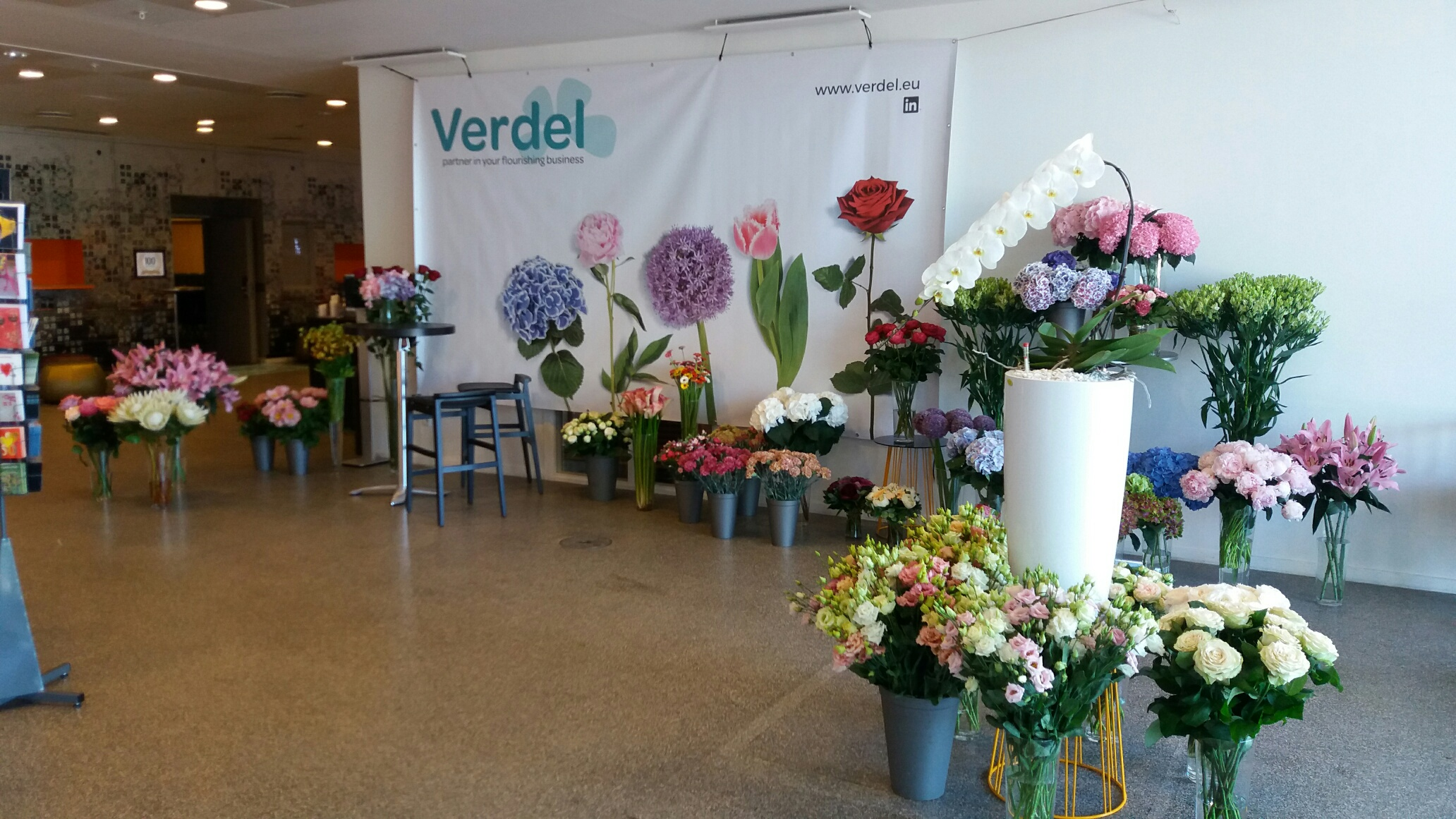 Verdel and BLOMSTER